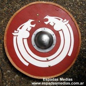 escudos vikngos 2 caballos